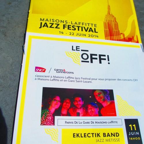 Concert gratuit - Jazz à maisons laffitte