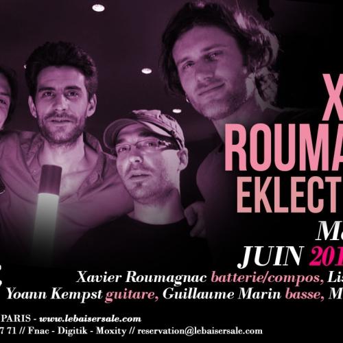 XR Eklectik Band concert au BAISER SALé Mercredi 17 Juin 21h30