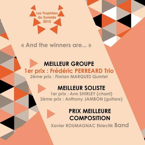 Eklectik Band gagne le prix MEILLEURE COMPOSITION aux Trophées du Sunside