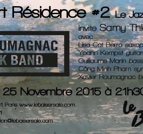 Mercredi 25 Novembre: Eklectik Band au Baiser Salé #2