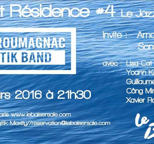 Concert Eklectik Band 30 mars 21h30 Baiser Salé#4