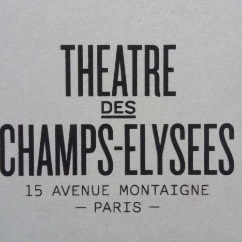 19 Juin 2016 17h Concert Eklectik Band au Théatre des Champs Elysées