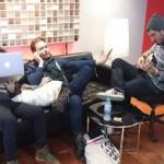 XREB équipe Motif Music ingénieur du son